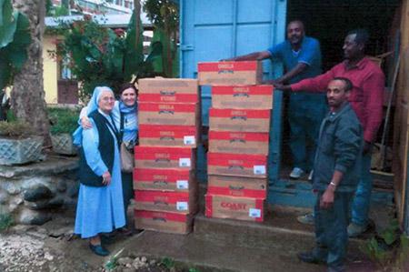 Foto nuova casa della speranza Tanzania