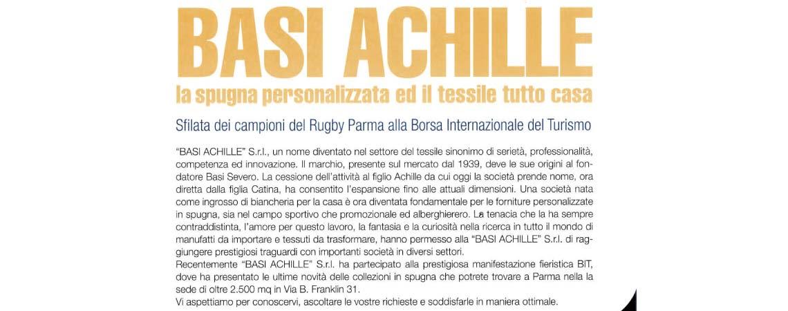 170b71144d Sfilata dei campioni del Rugby Parma al BIT Basi Achille