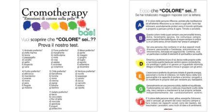 Test cromotherapy, scopri quale colore sei