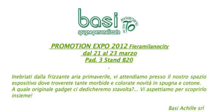 Promotion expo 2012